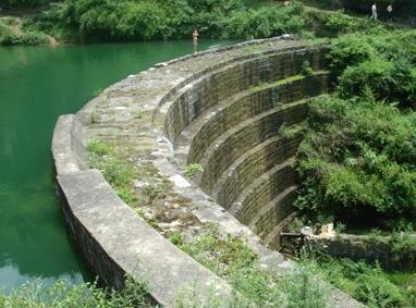 小溪水库大坝
