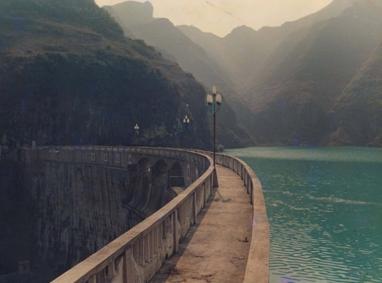 大水溪尾矿坝库区