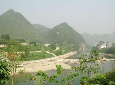 铜仁市南岳防洪堤